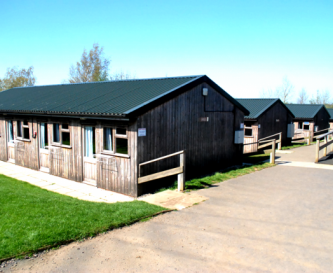 Our main accommodation buildings.
