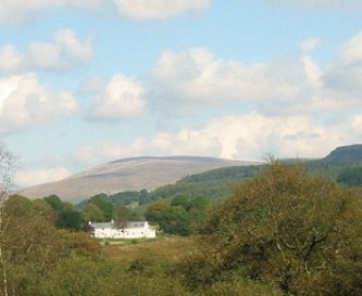View of clyngwyn from ystradffelte road