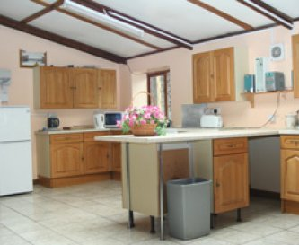 Large Bunkhouse double kitchen area
