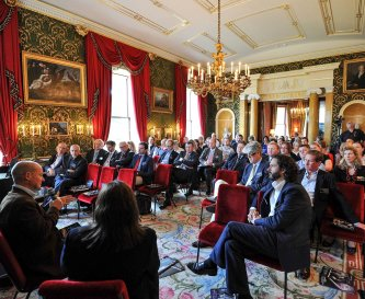 Broughton Hall offers stately conference spaces