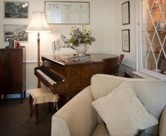Drawing Room with Piano
