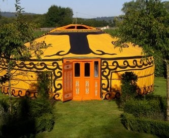 Yurt in the Garden- available in the Summer