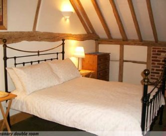 Double bedded room in The Granary