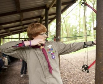 Activities such as archery are available to do.