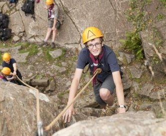 Crag Climbing is one of the activities we offer