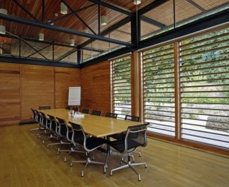 Utopia large and light boardroom space