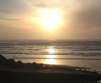 Westward HO! At sunset