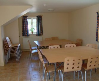 Dining room for 30 guests