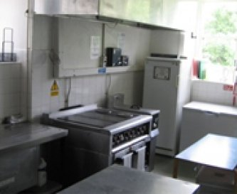 Kitchen at Ty'n y Berth