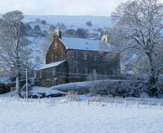 Ladywell House in the snow