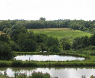 Some of lakes viewed from front of property