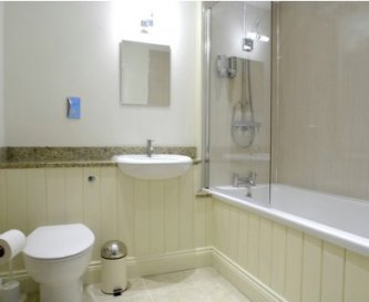 large bathroom, one of 5.