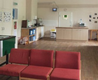 Large common room at Ty'n y Berth