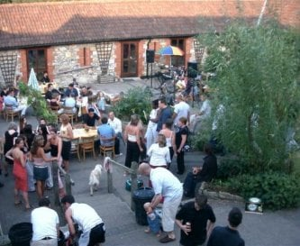 Party in the Courtyard