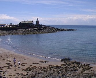 Portpatrick beach - 50 yards from The Knowe
