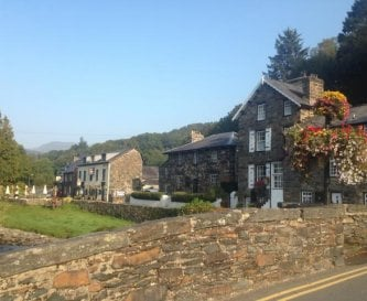 Plas Colwyn in the late September sunshine