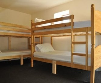 Clean, lockable, heated rooms with comfortable bed