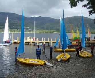 Thurston jetties and sailing session