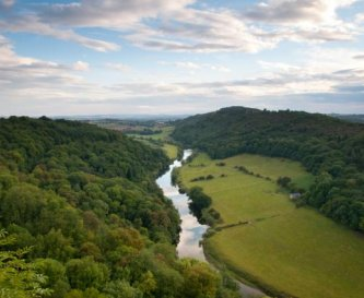 The River Wye within 20 minutes walk