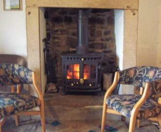 sitting room logburner