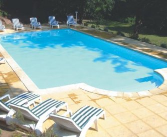 Large Heated Swimming Pool