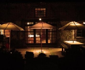 The Terrace at night