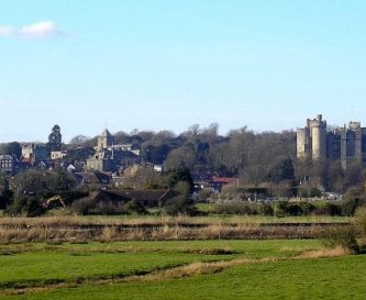 Arundel from the river