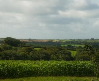 Countryside view from Beech House
