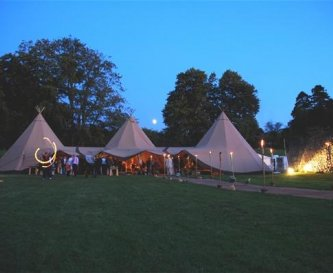 How about a tipi in the Orchard?