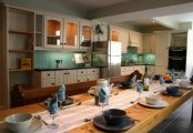 Large kitchen diner fully equipped and seats 13